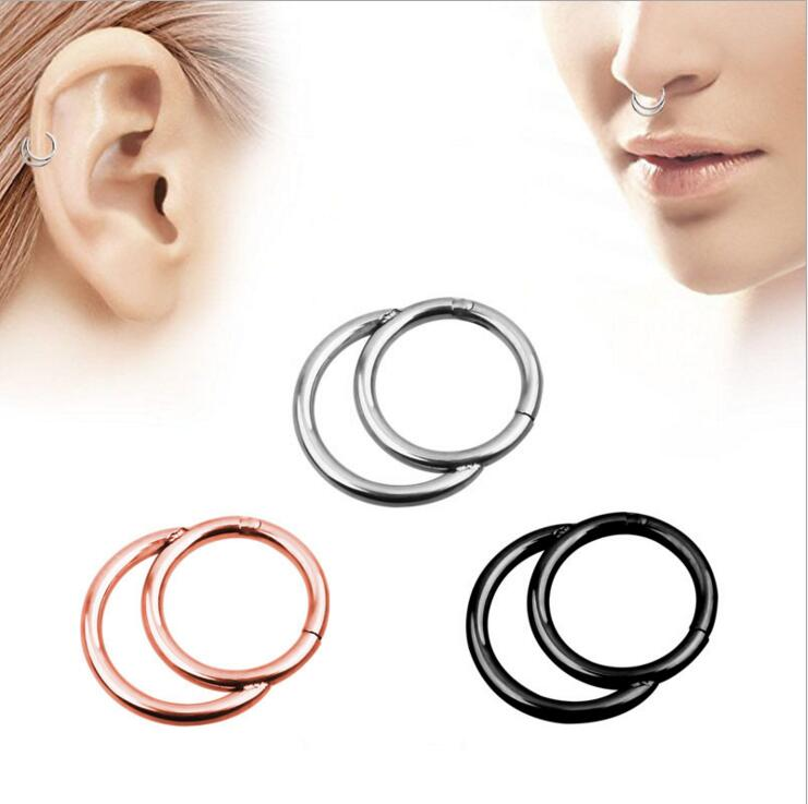1pc New Style Surgical Steel Indian Nose Rings And Studs Women