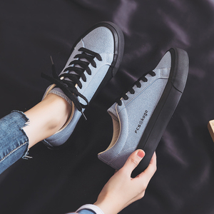 Image 3 - Womans Fashion 2020 Spring Fashion Flat Sneakers Female Color Flats Shoes Casual Low top Platform Sneakers Womens Shoes