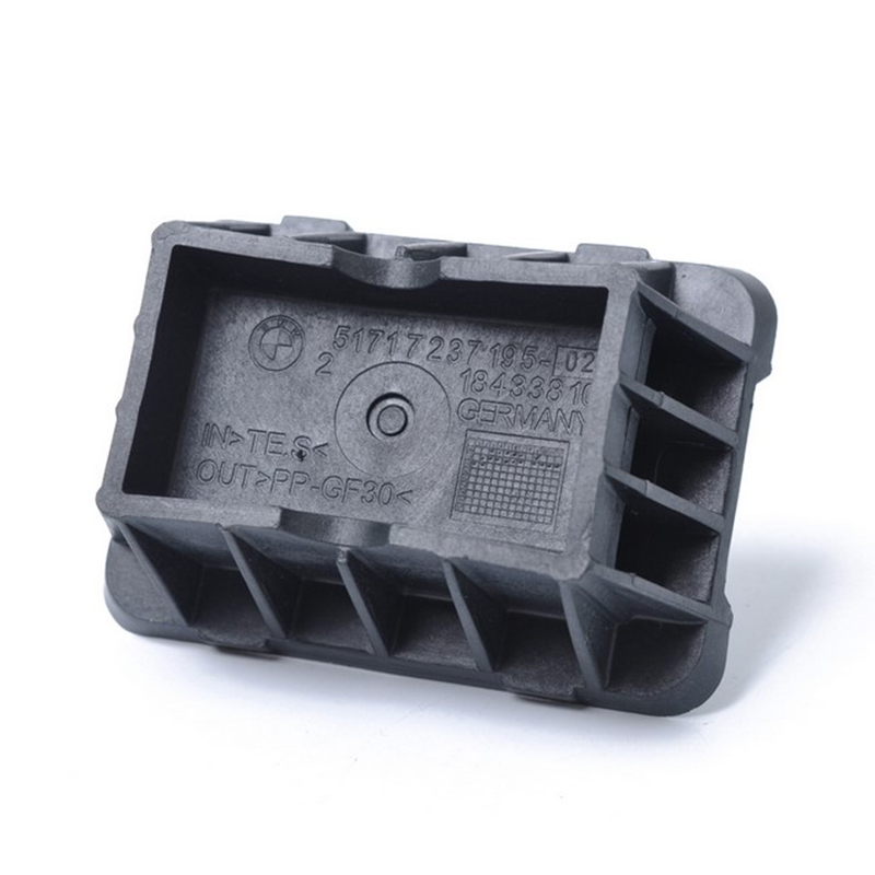 51717237195 Rubber Mat For BMW 1/3/5/6/7 Series Soft 1pc Auto Under Support