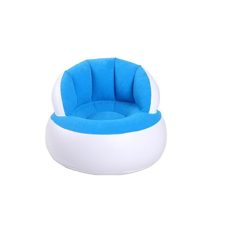 Children's Small Sofa With Backrest Inflatable High Quality Living Room Bedroom Indoor Safe And Comfort Portable Sofa Chair