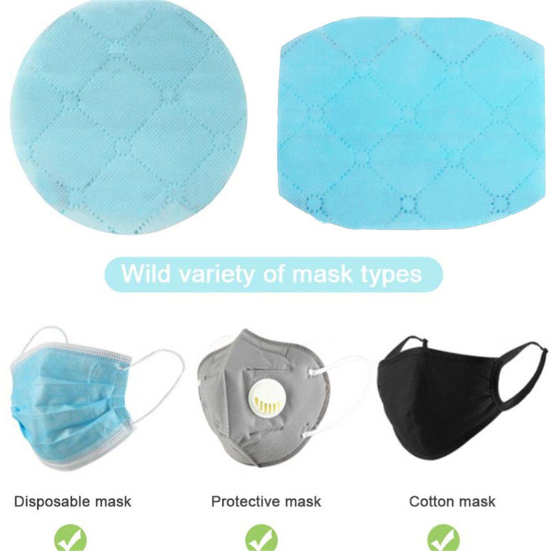 5/10pcs Anti Dust Medical Mouth Face Mask Activated Carbon Filter Set Insert Dustproof Health Care Supplies