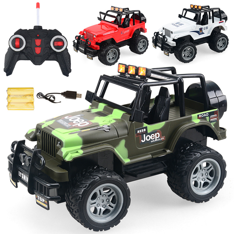 1:18 RC Car Jeep Car Remote Control Toys Gift For Boys Kids Children Toys For Boys Kids Control Toys
