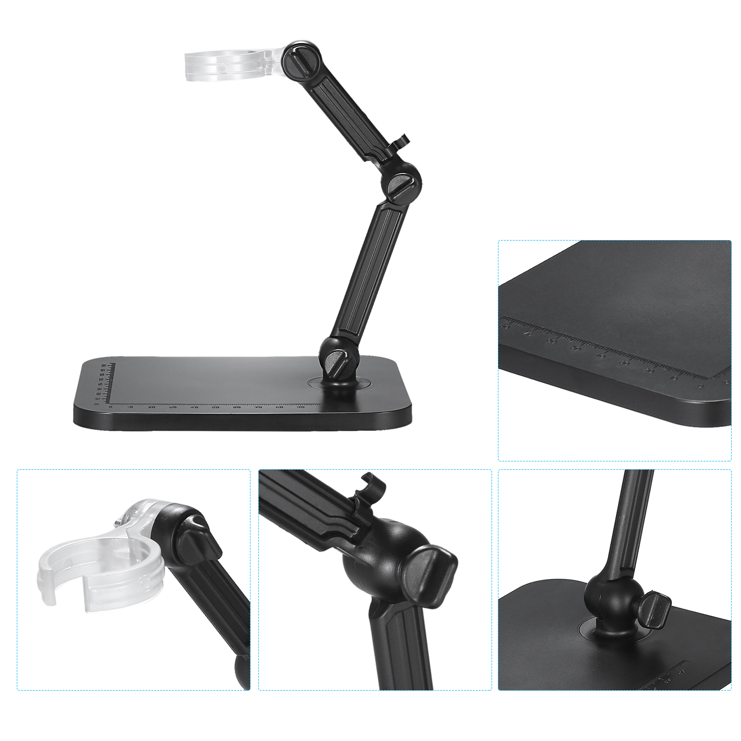 Mini Digital Microscope Stand Magnifier Camera Stand Holder Adjustable Bracket Universal Support Base for Digital Microscope