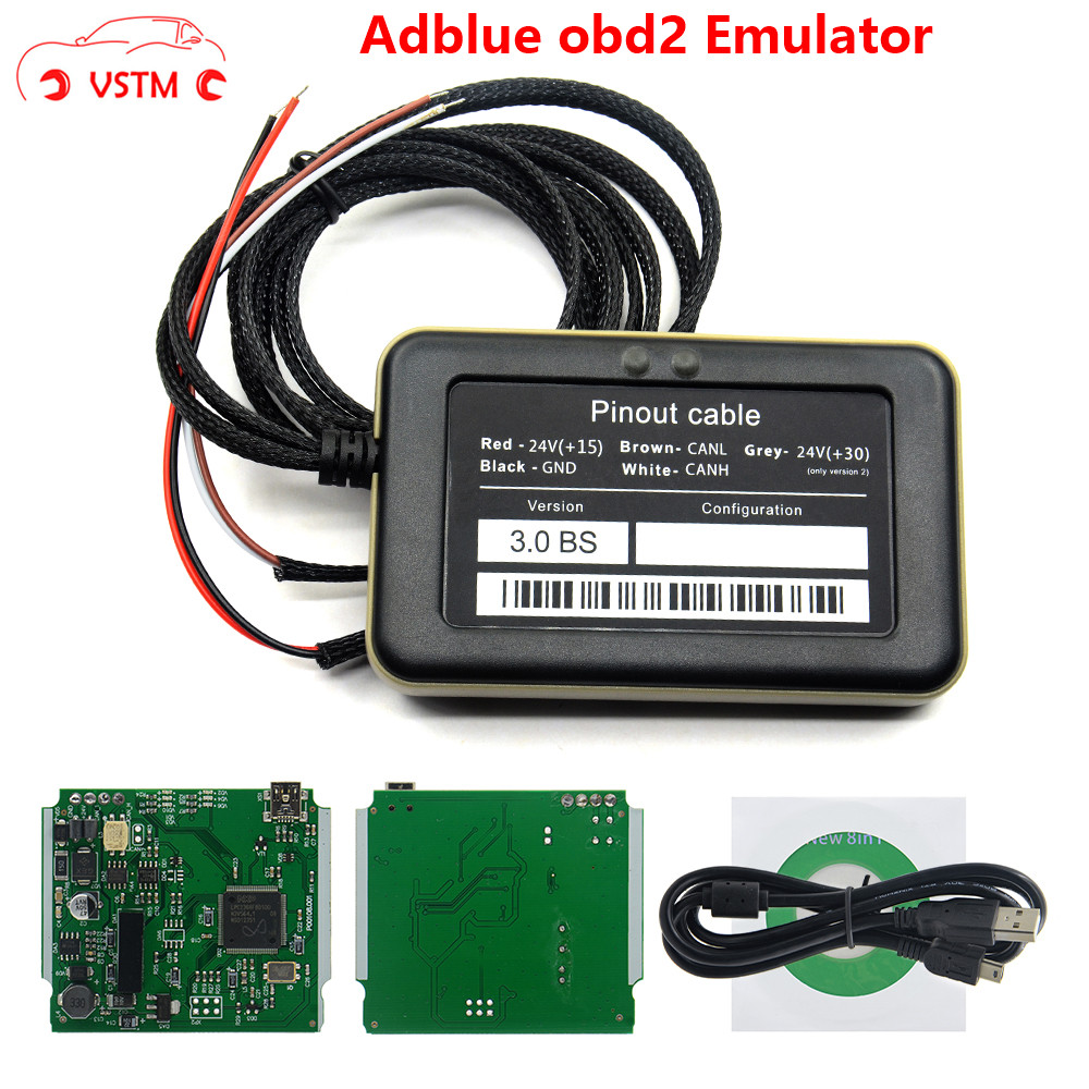 Adblue 8 in 1 8in1 update 9 in 1 Universal NOT NEED ANY SOFTWARE 9in1|Engine Analyzer| |  - title=