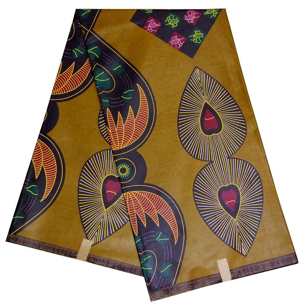 African Print Fabric 6yard Per Lot Nigerian Ankara Guaranteed Real Dutch Wax Veritable African Wax Fabric