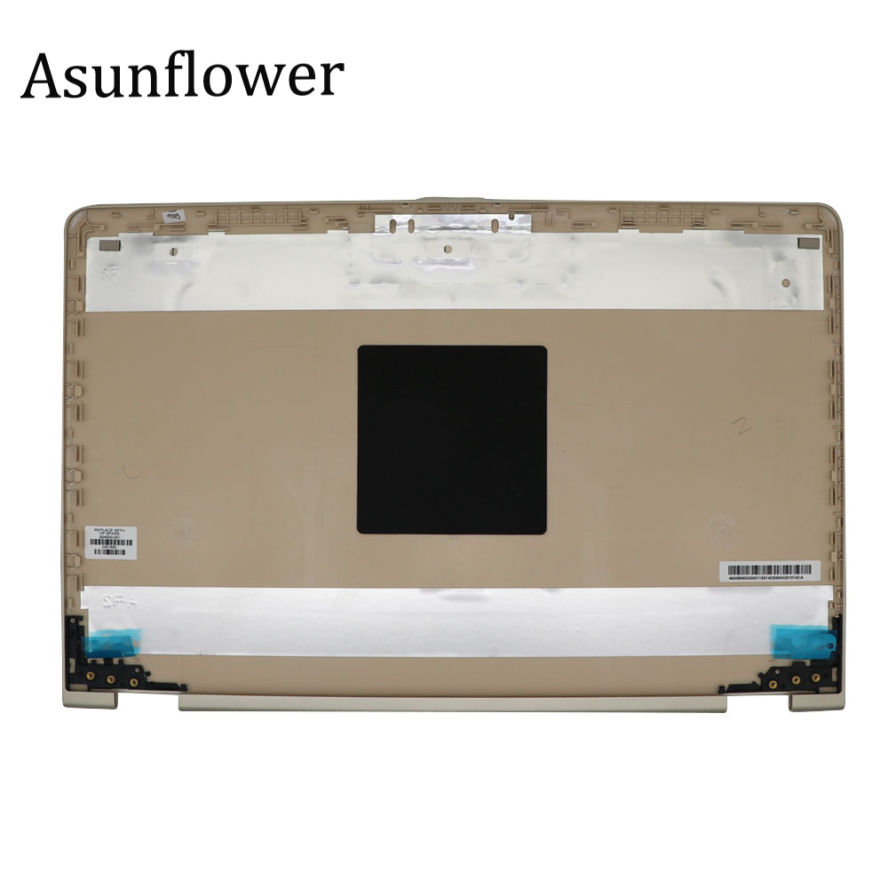 Asunflower NEW Back Cover Case For HP PAVILION X360 15-BR  15-BR082WM SERIES GOLD LCD BACK COVER / REAR LID 924500-001 A Shell