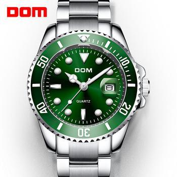2019 Top Brand DOM Luxury Men's Watch 30m Waterproof Date Clock Male Sports Watches Men Quartz Wrist Watch Relogio Masculino 2
