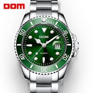 Image 2 - 2019 แบรนด์DOM Luxuryนาฬิกาผู้ชาย 30Mนาฬิกากันน้ำกีฬานาฬิกาผู้ชายนาฬิกาข้อมือควอตซ์นาฬิกาrelogio Masculino