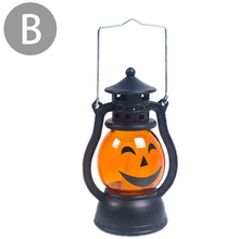 Halloween Decoration Paper LED Lantern Hanging Pumpkin Lamp Party Home Props _WK цена