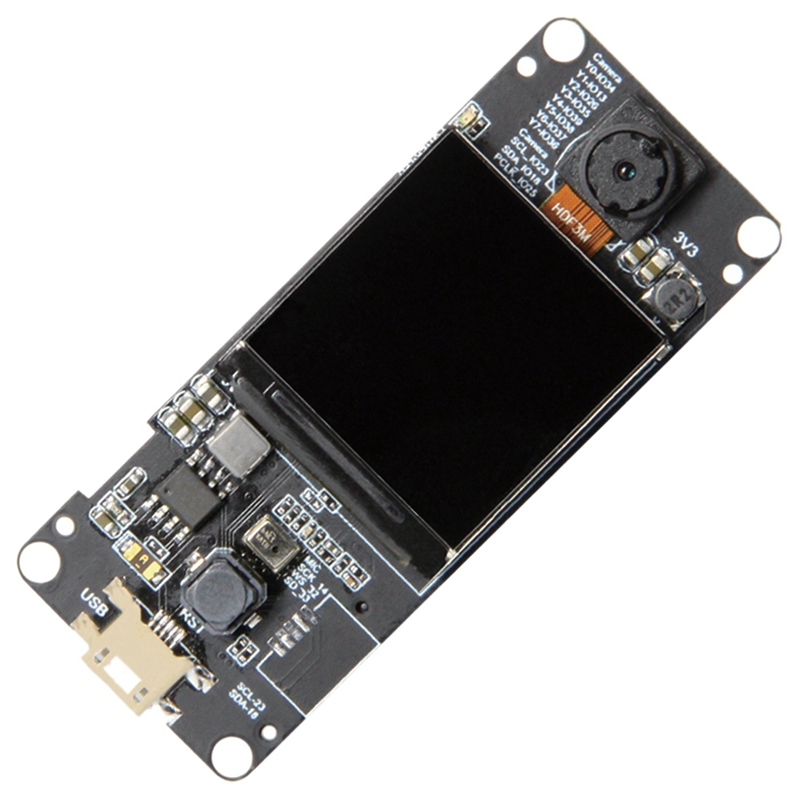T-Camera Plus Esp32-Dowdq6 8Mb Spram Camera Module Ov2640 1.3 Inch Display Rear Camera