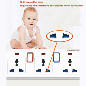 Image 5 - Power Streifen 1/2/3/4/5 Weg AC Universal Outlets Steckdose mit USB Einzeln Schalter Verlängerung Kabel Surge/Überlast Schutz