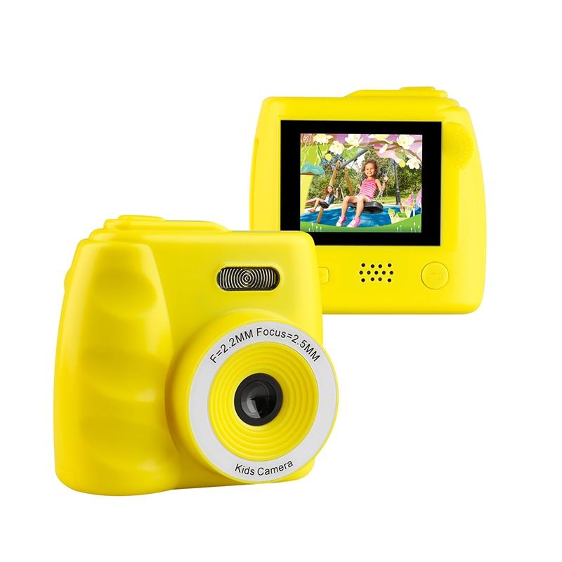 2.0 inch Screen Mini Kids Camera 1080P Video Camera 8MP Rechargeable Children Cartoon Digital Camera for Children Birthday Gift