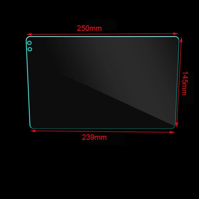Glas Screen Protector Film Auto Stickers Voor 9