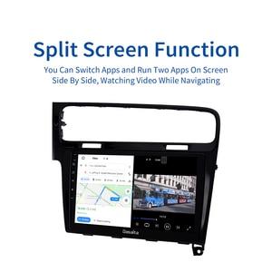"""Image 2 - Dasaita radio samochodowe 1 Din samochód Android 10.0 dla VW Golf 7 2013 2014 2015 2016 2017 nawigacja GPS 10.2 """"ekran dotykowy IPS HDMI"""