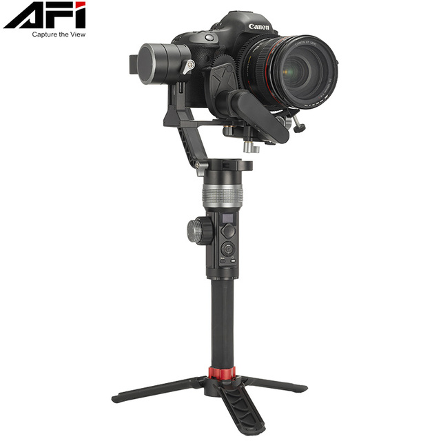 AFI D3 Gimbal Stabilizer For Camera Gimbal Dslr Handheld 3 Axis Stabilizer Video Mobile With Servo Follow Focus For All Models