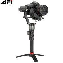 AFI D3 Gimbal sabitleyici kamera Gimbal Dslr el 3 Axis sabitleyici Video mobil Servo için takip odak tüm modeller