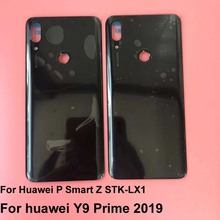 Original New For Huawei P Smart Z STK LX1 For huawei Y9 Prime 2019 Battery Cover Plastic Rear Door Housing Back Case