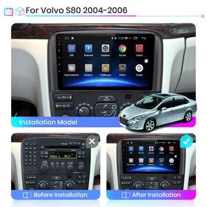 Image 2 - Junsun V1 pro 2G + 128G Android 10 dla Volvo S80 1998   2006 Radio samochodowe multimedialny odtwarzacz wideo nawigacja GPS 2 din dvd