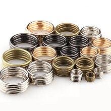 20 шт./лот, 20 мм-35 мм, бронзовое, серебряное, черное, Золотое кольцо с круглым кольцом, металлическое соединение, сплав, обувь, сумки, пряжки для ремня, аксессуар «сделай сам»