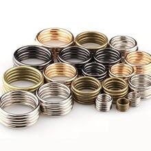 20 sztuk/partia 20mm - 35mm brąz srebrny czarny złoty koło O pierścień połączenie stopu metalu buty torby klamry pasa DIY Accessorie