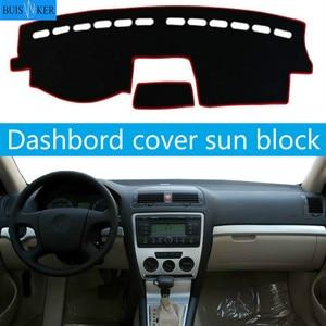Для Skoda Octavia A5 2006 2007 2008 2009 2010 2011 2012 крышка приборной панели автомобиля коврик Даш солнцезащитный инструмент Аксессуары для ковров