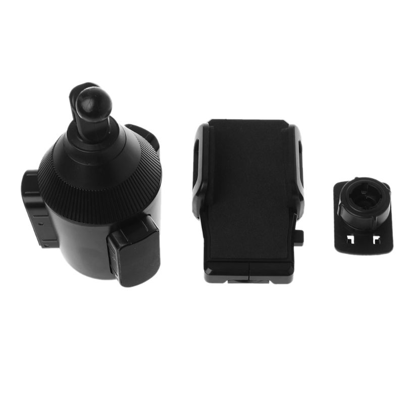 Free Shipping Universal Car Cup Holder Mobile Phone Mount with  Rotatable Cradle Stand for iPhone  Samsung Galaxy Xiaomi  Phone