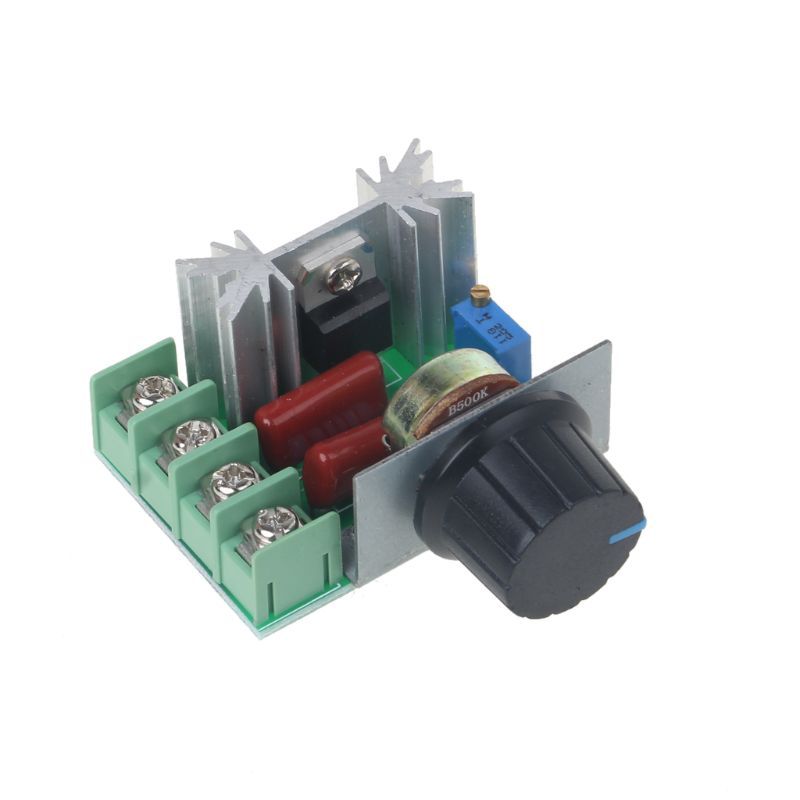 2000W AC Motor Speed Controller 50-220V 25A Adjustable Voltage Regulator Module