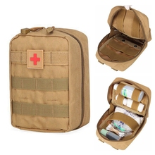 Edc-Bag Survival-Tool-Pack First-Aid-Kit Medical-Pouch Army Molle Hunting Outdoor Camping