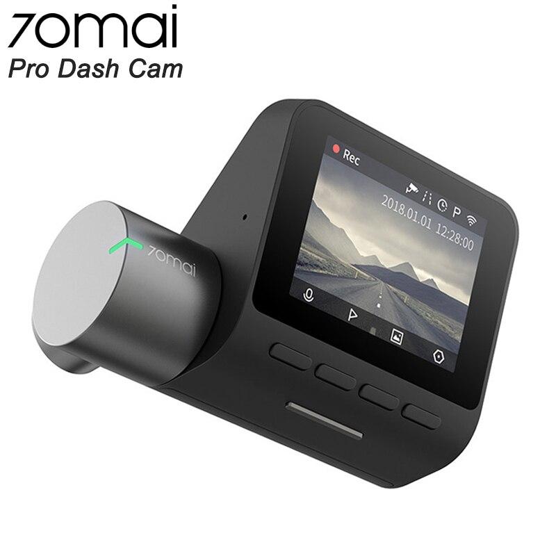 70mai Pro Traço Cam Full HD 1944P Câmera Do Carro Gravador GPS ADAS 70 24 mai Wifi Dvr Carro H monitor de estacionamento 140FOV Night Vision