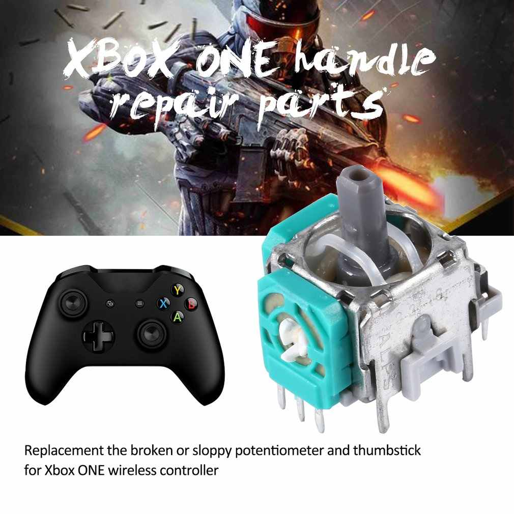 Módulo pulgar Stick reemplazo 3D Joystick analógico para XBOX ONE para Sony PlayStation 4 PS4 Pro Slim piezas para reparar controlador 2020