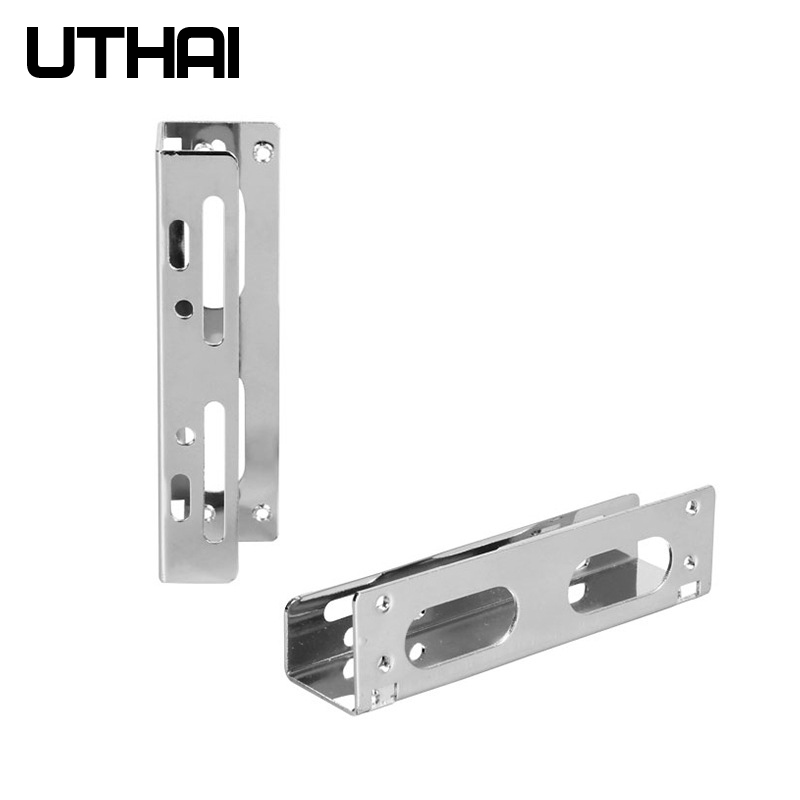 UTHAI G23 2.5 Inch 3.5 Inch HDD Bracket Floppy Adapter Hard Drive Caddy Bay For SSD M.2 HDD Holder Galvanized