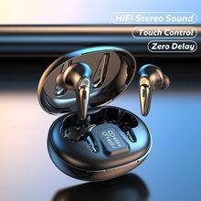Беспроводные водонепроницаемые светодиодный ные наушники со светодиодным дисплеем и поддержкой Bluetooth 5,0