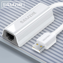 SAMZHE USB 3,0 1000 Mbps Gigabit Lan Adapter USB 3,0 zu RJ45 Ethernet Internet Netzwerk Karte für Windows 7/8/10/XP USB Ethernet(China)