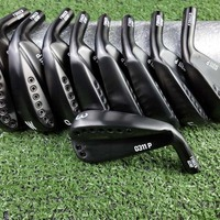 Golf Clubs 0311P GEN2 black golf irons 3 9WG 9pes graphite or steel shaft with head cover free shipping