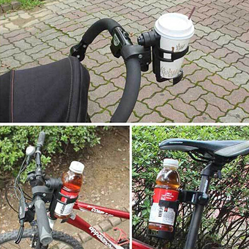 Baby Stroller Accessories Cup Holder yaya Pram Cart Bottle Rack for Milk Water Pushchair Carriage Buggy Universal Bicycle Bike in Strollers Accessories from Mother Kids