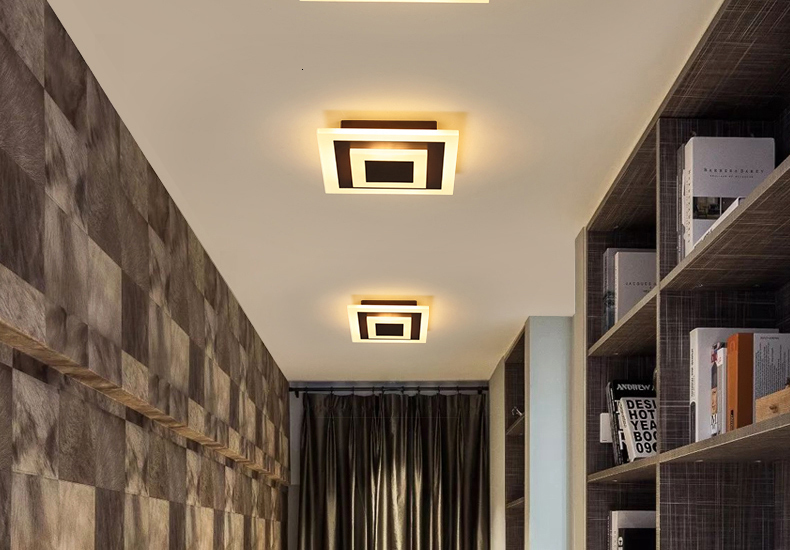H1a4c6eab1cda4ae9b0f15c799e66b89dd Modern ceiling lights 12w for hallway balcony corridor Coffe white light lamps bedroom luminaria teto acrylic lamparas de techo