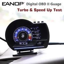 Head-Up-Speed-Monitoring Guage-Display Turbo Hud Obd Gps Digital EANOP L200pro Acceleration