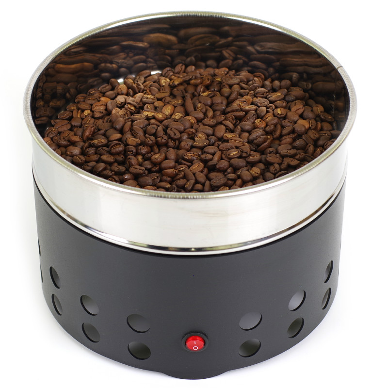 110v-240V Coffee Bean Cooler Electric Roasting Cooling Machine For Home Cafe  Rich Flavour Stainless Steel Radiator Heat Sink