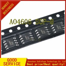 5Pcs AO4606 General High Voltage Plate N+P Channel MOS FET SOP-8