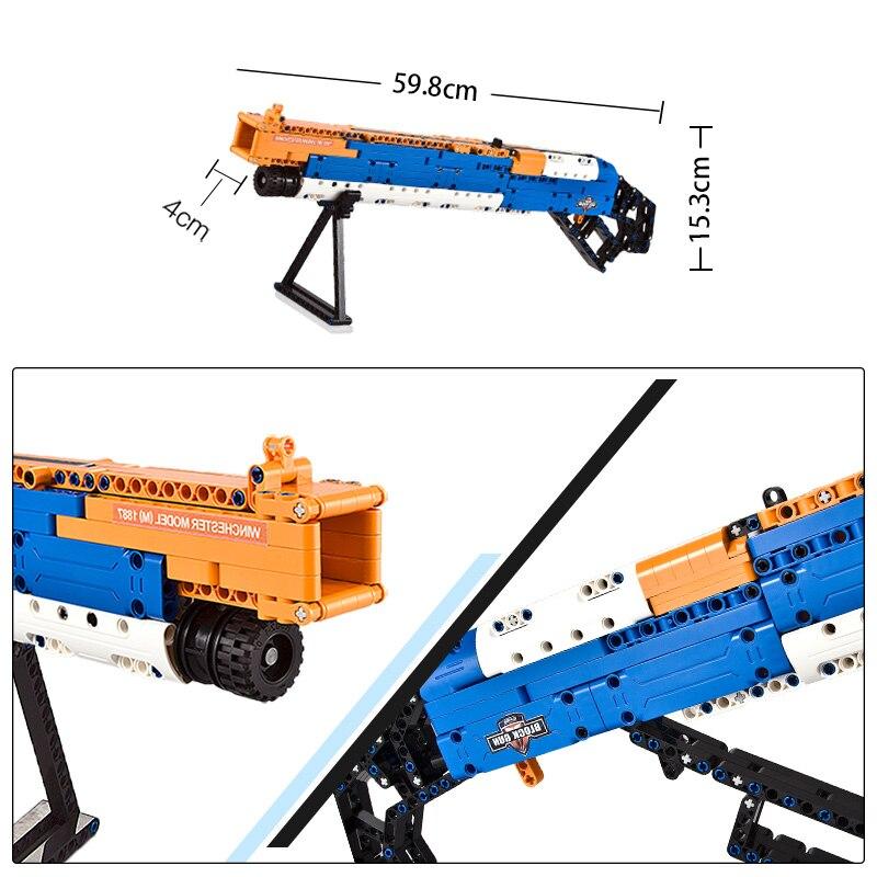 Cada C81004 Shot Guns Building Blocks