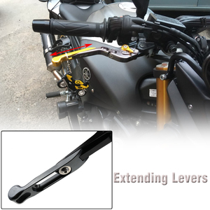 Image 5 - Für Yamaha SuperTenere XT1200ZE 2012 2016 Motorrad CNC Aluminium Bremse Kupplung Hebel Verstellbare Falten Super Tenere XT 1200 ZE