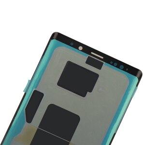 Image 4 - ORIGINALE 6.4 AMOLED Display con cornice per il SAMSUNG Galaxy Note 9 Note9 N960D N960F A CRISTALLI LIQUIDI di Tocco Digitale Dello Schermo di Ricambio parte