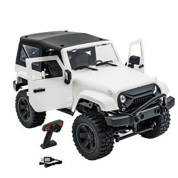 1: 14 Ratio 2.4G Remote Control Car Simulated Children Model Four Wheel Drive Cross Country Climbing Vehicle