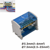 1pcs Electronic Box Wire Terminal Splitter PA Nylon Wire Wiring Terminals Junction Box Tool Electrical Accessories