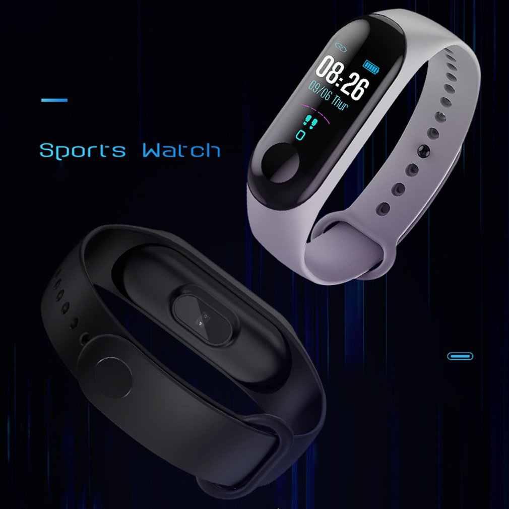 M3 mart montre de sport femmes montre intelligente hommes fréquence cardiaque moniteur de pression artérielle Fitness Tracker podomètre montre offres spéciales