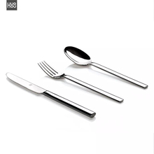 Original Huohou Steak Knives Spoon Fork Stainless Steel Quality High grade Dinner Dinnerware Household Cutlery Set