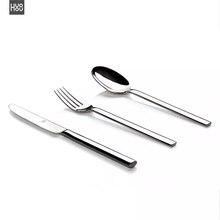 Original Huohou Steak Messer Löffel Gabel Edelstahl Qualität Hohe grade Abendessen Geschirr Haushalt Besteck Set