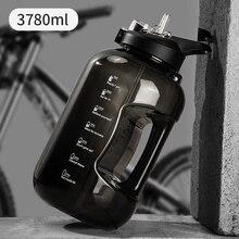 3780 мл большая бутылка воды тритан Герметичная Кружка-шейкер Спортивная бутылка для питья на открытом воздухе Дорожная бутылочка для питья ...