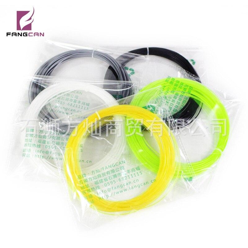 Wang Pai Xian FANGCAN Fang Can Genuine Product Tennis Racket Ultra-stretch Nylon Elasticity Durable 12 M Monofilament Line Durab