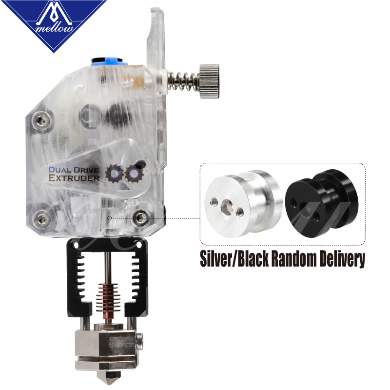Image 5 - Mellow Nf Crazy Hotend With Bmg Extruder Plated Copper V6 Nozzle Kit For 3D Printer Blv Printing 1.75MM Abs Petg Tpu Nylon Peek-in 3D Printer Parts & Accessories from Computer & Office